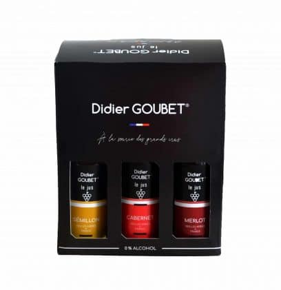 coffret decouverte cepages BIO - 6x25cl